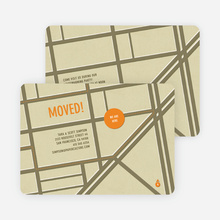 Moving Map Moving Announcements - Mocha Runway