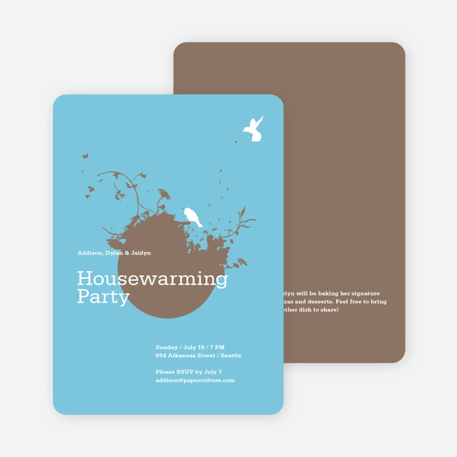 New Nest Housewarming Party Invitations Paper Culture