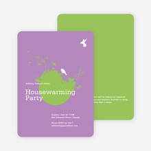 New Nest Housewarming Party Invitations - Amethyst