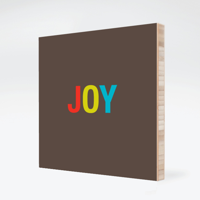 Joy Bamboo Wall Art - Multi