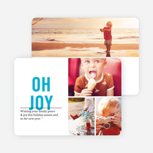 Oh Joy Holiday Card - Blue