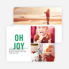 Oh Joy Holiday Card - Green