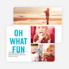 Picture Fun Christmas Cards - Blue