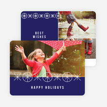 Joyful Ornaments Holiday Cards - Blue