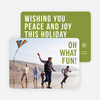 Holiday Wishes Christmas Cards - Green