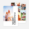 Photos Galore Christmas Card - Black