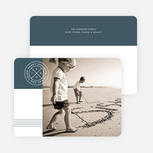 Modern Seal Holiday Cards - Gray
