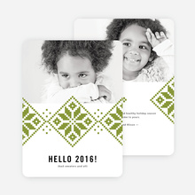 Keep Toasty New Year Cards - Green