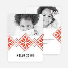 Keep Toasty New Year Cards - Red