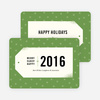 Gift Tag Wishes Corporate Card - Green