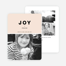 Joy All Around Holiday Cards - Beige