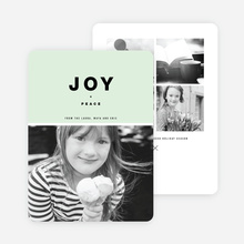 Joy All Around Holiday Cards - Green