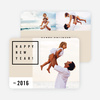 Be Modern New Year Cards - Beige