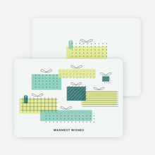 Gift Boxes Corporate Holiday Cards - Green