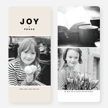 Joy All Around Holiday Cards - Brown