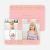 Photo Stars New Year Cards - Pink