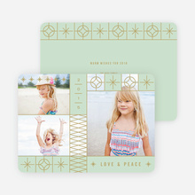 Stars and Stripes Holiday Cards - Green