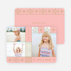 Stars and Stripes Holiday Cards - Pink