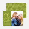 Whimsical and Festive Holiday Cards - Green