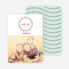 Holiday Garland Photo Cards - Green