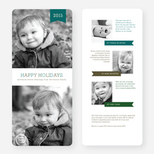 Fun Holiday Cards - Blue