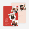 It's Raining Photos Save the Date Photo Cards - Pink