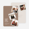 It's Raining Photos Save the Date Photo Cards - Yellow
