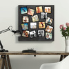 16 Custom Photo Wall Stickers - Black