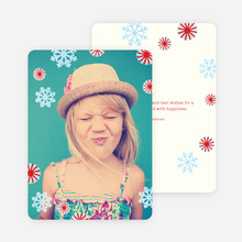 Christmas Photo Cards - Red