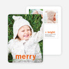 Big Wishes Holiday Christmas Cards - Orange