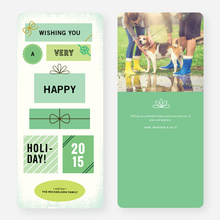 Gifts Galore Holiday Cards - Green