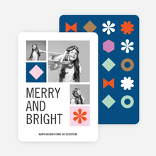 Retro Icons Holiday Cards - Multi