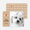 Furry Dog Holiday Cards - Main View