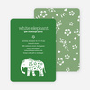 White Elephant Party Invitations - Main View