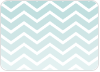 Chevron Winter Stripes - Back View