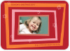 Retro Holiday Frame - Front View