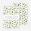 Daisy Pattern Holiday Invitations - Dutch Iris