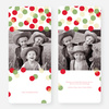 Dots Galore Holiday Cards - Red