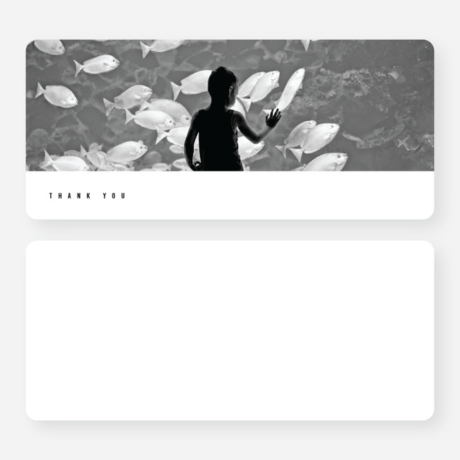 A Quick Note Notecards - Black