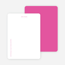 Bright & Simple Stationery - Purple