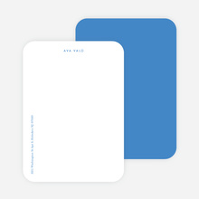 Bright & Simple Stationery - Blue