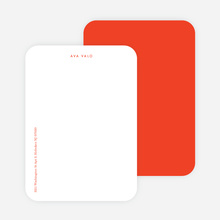 Bright & Simple Stationery - Red