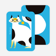 Cat Stationery - Blue