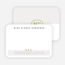 Color Splash Notecards - Gray