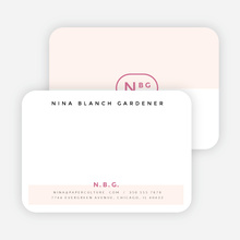 Color Splash Notecards - Pink