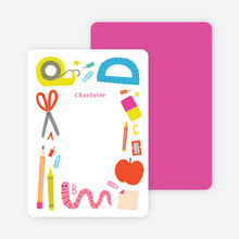 School Supplies Stationery - Purple