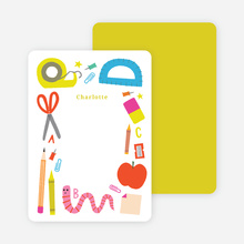 School Supplies Stationery - Yellow