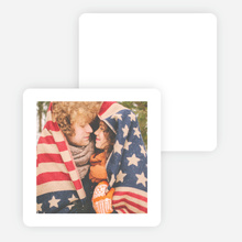 Simple Photo Thank You Cards with White Border - Black