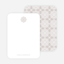 Tile Pattern Stationery - Gray