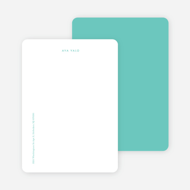 Bright & Simple Stationery - Green